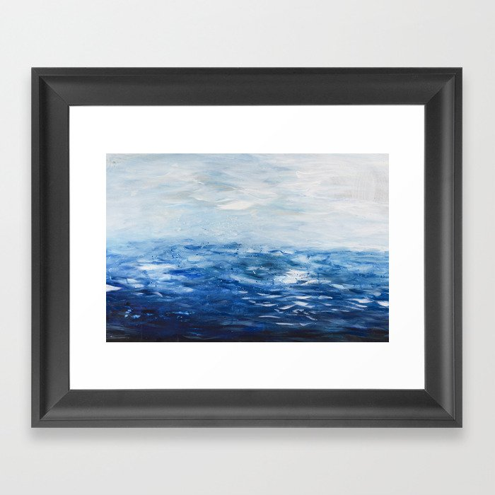 Paint 10 abstract water ocean seascape modern painting dorm room ...