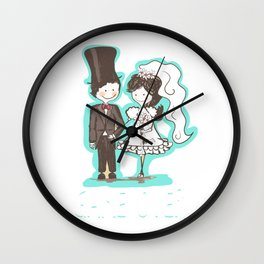 Game Over - Wedding, Marriage Wall Clock