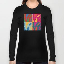 Love Pop Art Long Sleeve T-shirt