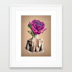 Mollie Rose Framed Art Print
