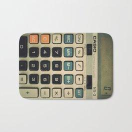 Calculator Bath Mat