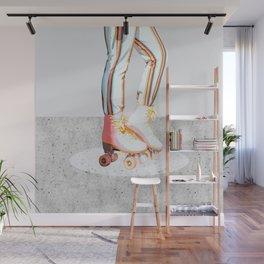 Skating #illustration #lifestyle Wall Mural