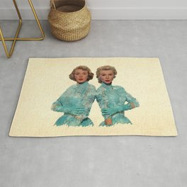 Two Different Faces... (Sisters) Rug