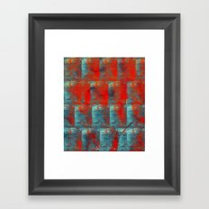 more than the ocean Framed Art Print