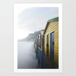 South African Beach Days Art Print