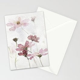 FLOWERS PAINTING-VINTAGE Stationery Cards