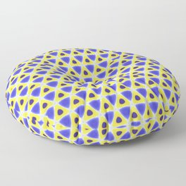 A sea of Triangles Floor Pillow