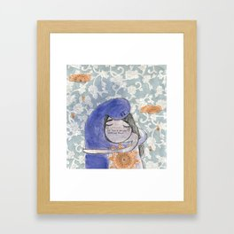 in here you can love me back Framed Art Print