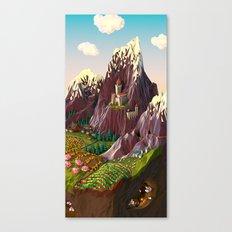 Vale Canvas Print