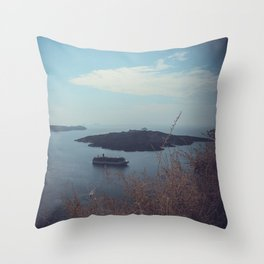 Santorini, Greece 15 Throw Pillow