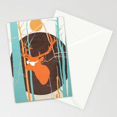 In the Headlights Stationery Cards