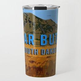 Bear Butte South Dakota Travel Mug