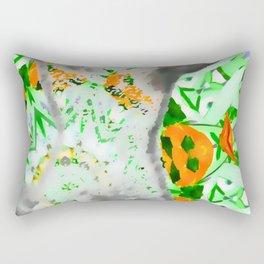 Sculpture and nature ... Rectangular Pillow