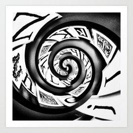Typo Art Print