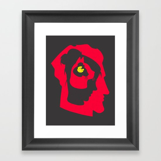I've been thinking about you (Second version) Framed Art Print