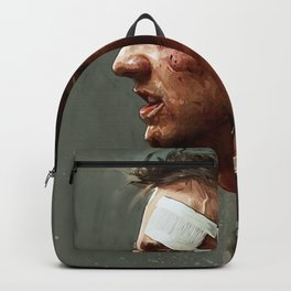 I'd Fight Gandhi Backpack