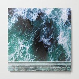Sea Prism Stone Metal Print
