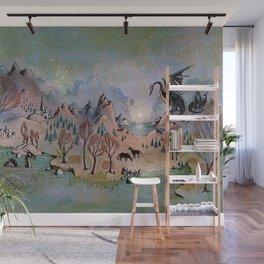 Dragon Hills Wall Mural