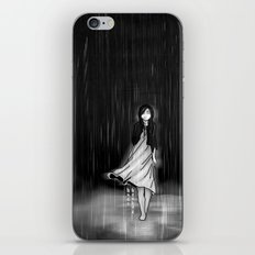 ... as the rain fell on me iPhone & iPod Skin