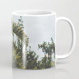 Green palms Coffee Mug