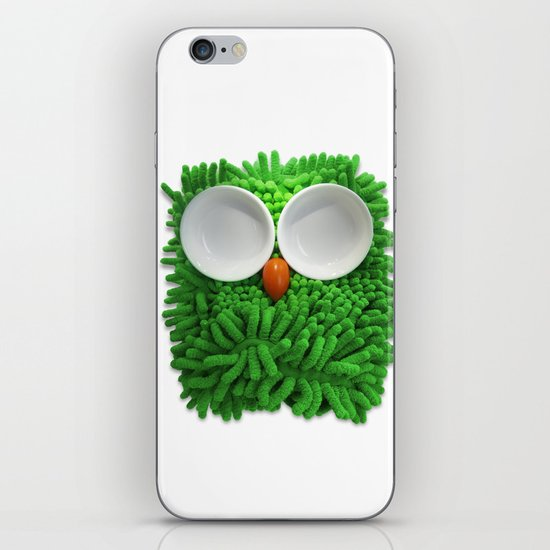 Hootie the House Owl! iPhone & iPod Skin