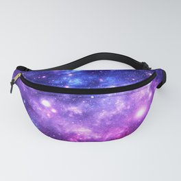 Purple Blue Galaxy Nebula Fanny Pack