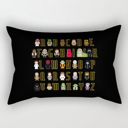 St_ar Wars Alphabet 3 Rectangular Pillow