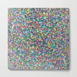Colorful mosaic small tiles Metal Print
