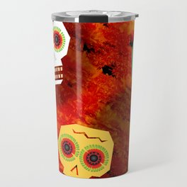 Trio of Skulls Travel Mug