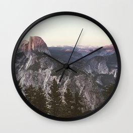 Great Nights in Yosemite Wall Clock