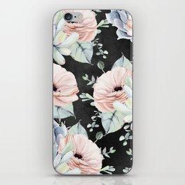 Night Succulents iPhone Skin