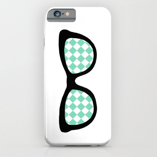 Mint Diamond Eyes iPhone & iPod Case