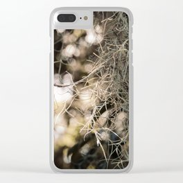 Southern Beauty Clear iPhone Case