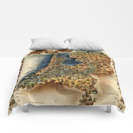 Map of Holland Comforters