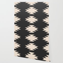Minimal Southwestern - Charcoal Wallpaper