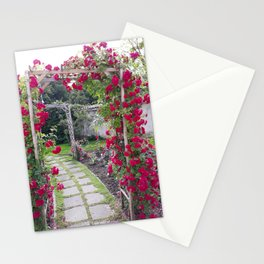 Rose Pergola Stationery Cards