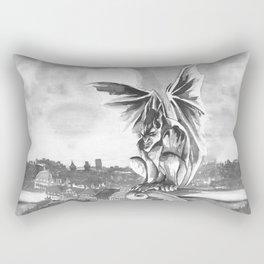 Gargoyle Night Rectangular Pillow
