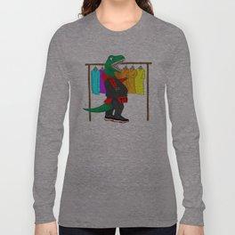t-rex's hate shoppin' for long sleeve shirts Long Sleeve T-shirt