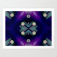 planets Art Prints featuring Planets by Digital-Art