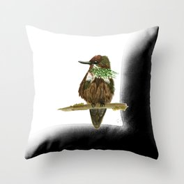 Festive Coquette Throw Pillow
