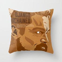 Quentin Tarantino's Plot Movers :: Django Unchained Throw Pillow