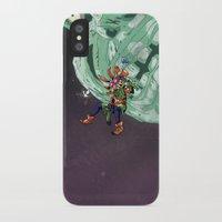 majoras mask iPhone & iPod Cases featuring Skull Kid Majoras Mask by Aaron Pittman