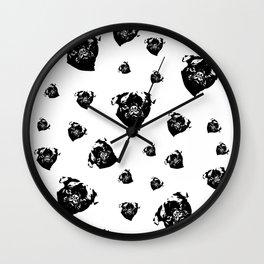 Pug Dog Gifts Wall Clock