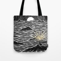 lighthouse Tote Bags featuring Lighthouse by barmalisiRTB