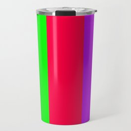 Neon Mix #1 Travel Mug