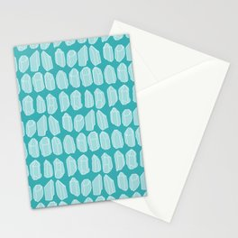 Blue Crystal Stationery Cards