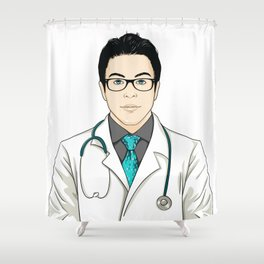 Doctor Shower Curtain