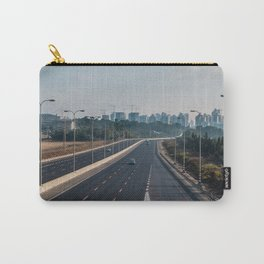 Natanya cityscape in early morning light Carry-All Pouch