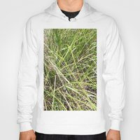 grass Hoodies featuring GRASS by JANUARY FROST