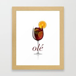 OLE Framed Art Print